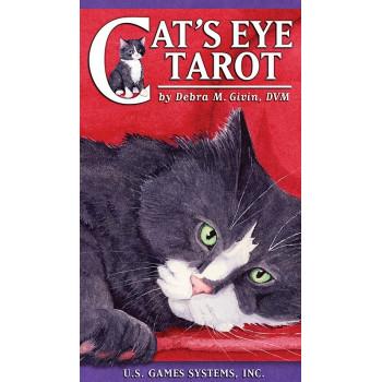 Cat's eyes tarot